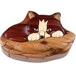 Kitten - Secret Wooden Puzzle Box