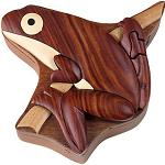 Tree Frog - Secret Wooden Puzzle Box
