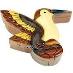 Hummingbird - Secret Wooden Puzzle Box