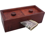 Mysterious Puzzle Box No. 3 - Money Gift Trick Box