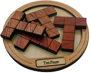 Tee Pause - Brain Teaser Wooden Packing Problem