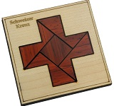 Switzerland - Square - Brain Teaser Wooden Packing Problem