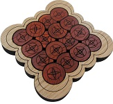 Circles - Brain Teaser Wooden Packing Problem