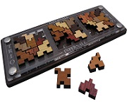 Trio Infernale - Wooden Packing Problem Brain Teaser Puzzle