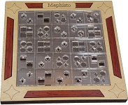 Mephisto - Shapes Matching Wooden Puzzle Brain Teaser