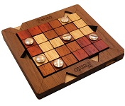 Pento - Wooden Brain Teaser Puzzle Packing Problem