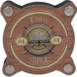 Euro-Falle 04 - Money Wooden Brain Teaser Puzzle