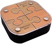Spiele Puzzle Box 02 - Wooden Secret Box Brainteaser Puzzle