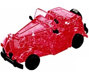 3d Crystal Puzzle Classic Car Red