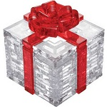 3d Crystal Puzzle Gift Box With Red Ribon