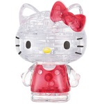 3d Crystal Puzzle Hello Kitty Lovely