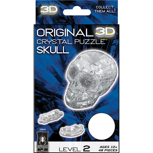 Crystal Skull Puzzle 3d Crystal Puzzle Skull