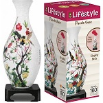 3d Lifestyle Vase Puzzle Singing Birds