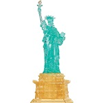 3d Crystal Puzzle Deluxe Statue Of Liberty