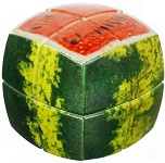 V-Cube 2x2 Watermelon Pillowed - Twist Cube Puzzle