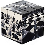 V-Cube Chess 3x3 - Flat Cube Twisty Puzzle