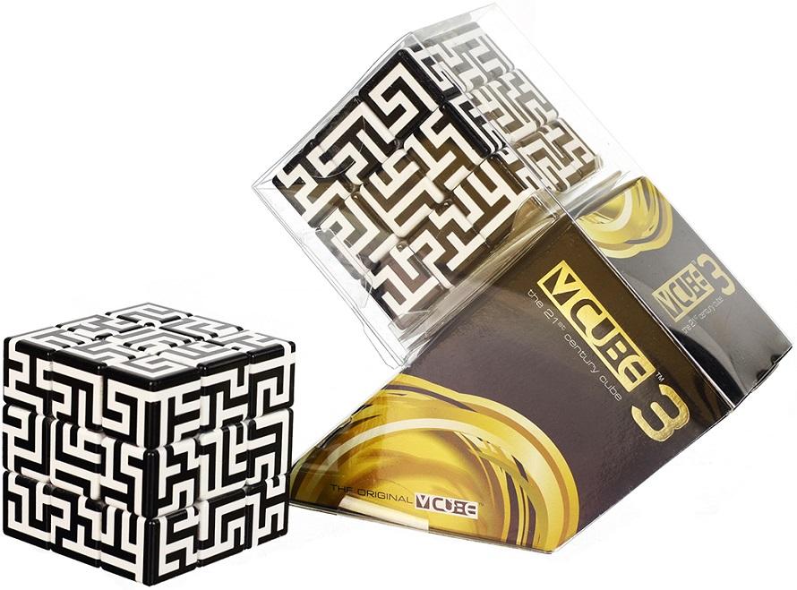 V Cube v cube 3 flat maze cube glossy finish 3x3 twisty puzzle