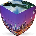 New York City Cube V-Cube 3x3 Pillowed Twisty Puzzle