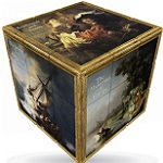 V-Cube 3x3 Rembrandt Art Cube Flat - Twisty Puzzle