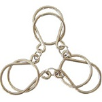 Chained Rings Wire Metal Puzzle