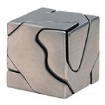 Curly Cube - Brain Teaser Metal Puzzle