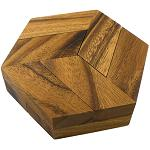 Hexagon - Brain Teaser Wooden Puzzle