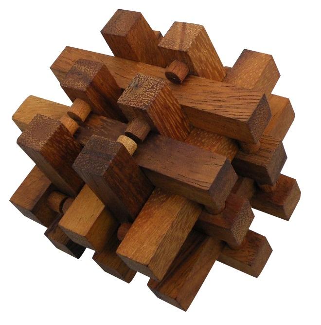 Stack - Interlocking 14 Pieces Wooden Puzzle