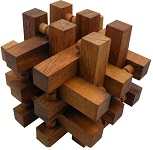 Stack - Interlocking 14 Pieces Wooden Puzzle