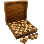 Pentominoes Chess - Wooden Brain Teaser Puzzle