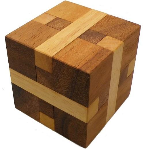 Bind Cube - Wooden Brain Teaser Puzzle | eBay