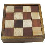 Devil's Chess - Wooden Brain Teaser Puzzle