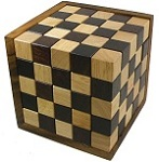 Fancy Enormous Y Cube  Wooden Puzzle