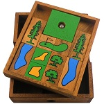 Golf Field - Wooden Puzzle Brain Teaser