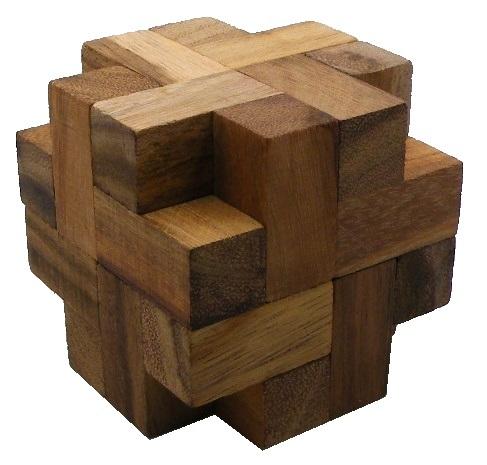 Propeller Cube - Wooden Brainteaser Puzzle