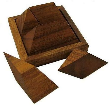 wooden pyramid puzzle instructions