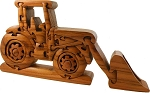 Tractor With Front Loader 3D Jigsaw Wooden Puzzle Brain Teaser