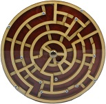 Labyrinth Plus - Wooden Brain Teaser Puzzle / Game