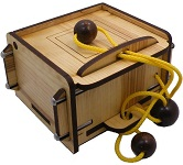 Lace-Up (Verschnurt) Box - Wooden Secret Puzzle Box
