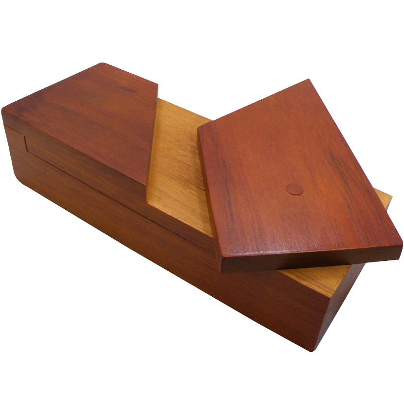 Longbox - Wooden Secret Puzzle Box
