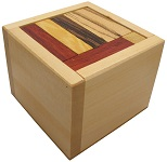 IQ 18 - Packing Problem Wooden Puzzle