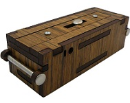 Streichholzbox (Matchbox) - Secret Wooden Puzzle Box