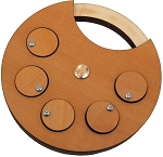 Smilock (Smiley Lock) - Wooden Lock Puzzle Brain Teaser