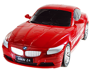 BMW Z4 - Red 3D Jigsaw Puzzle Car Kit