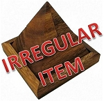 Irregular - 5 Piece Pyramid Wooden Puzzle Brain Teaser