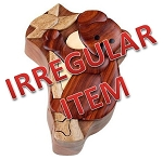Irregular - Koala Bear - Secret Wooden Puzzle Box