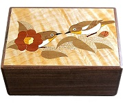 4 Sun 14 Steps Birds Love - Japanese Puzzle Box