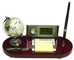 New Executive Fancy Globe Desk Organizer