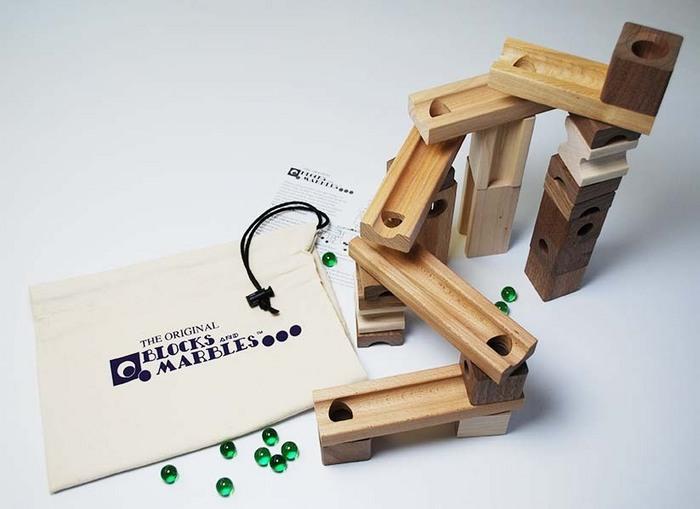 Blocks Amp Marbles Standard Set Wooden Maze Ebay