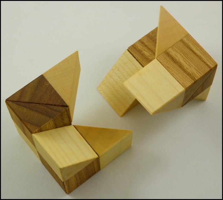 Cube Vinco - Brain Teaser Wooden Puzzle