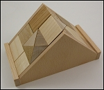 Triangle AC2 - Wooden Puzzle Brain Teaser